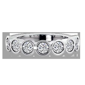 multi stone diamond rings