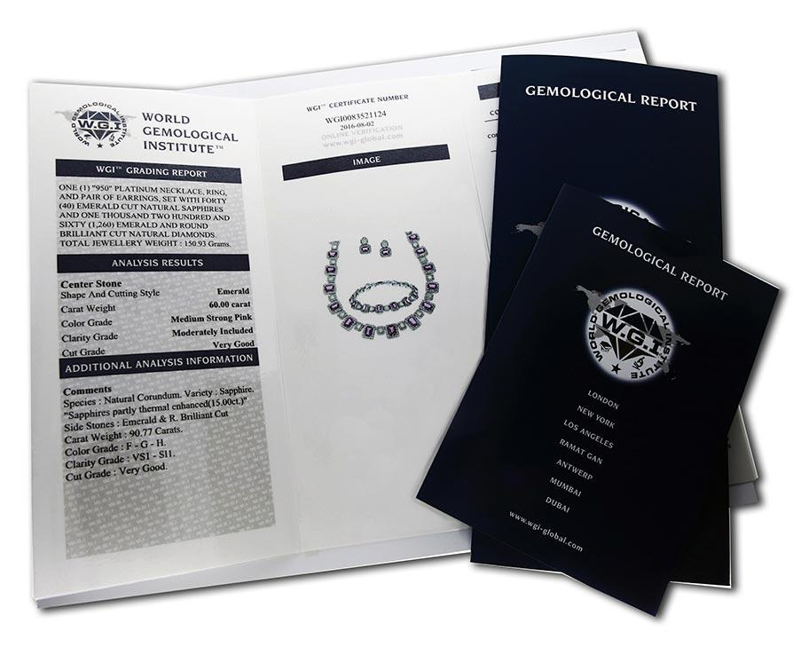 WGI certificate