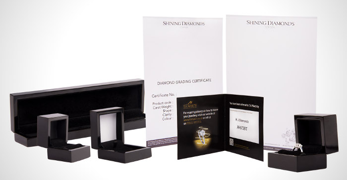 Shining Diamonds Presentation Box