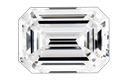Emerald Cut Diamond Pendants