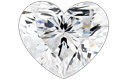 Heart Shape Diamond Pendants